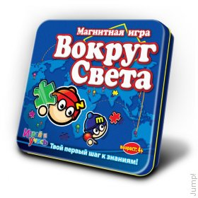 Магнитная игра MACK&ZACK LP- WORLD Вокруг Света